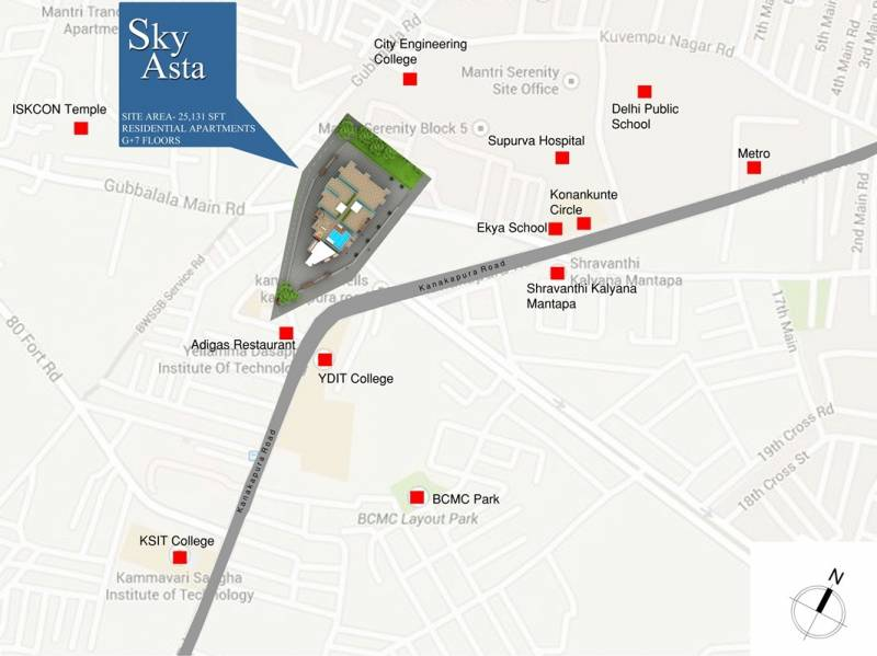 Images for Location Plan of SRC Sky Asta