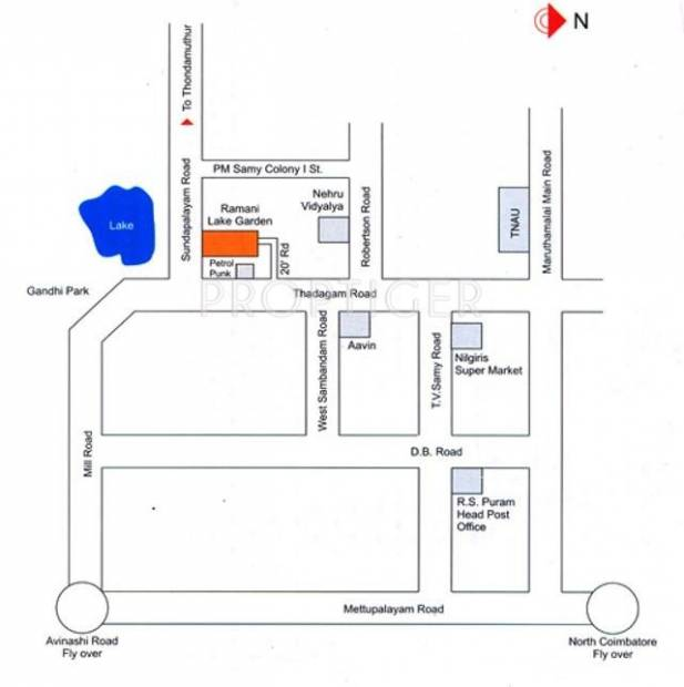 Images for Location Plan of Ramani Lake Garden