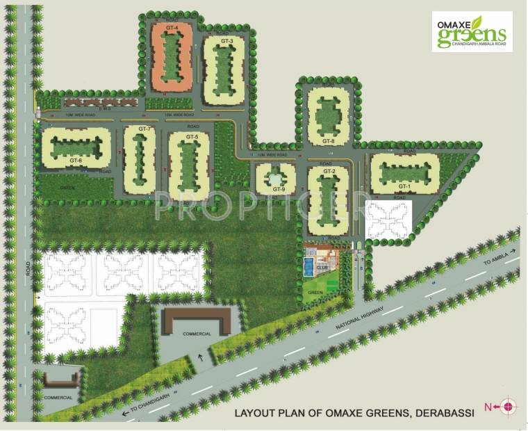 Images for Layout Plan of Omaxe Greens