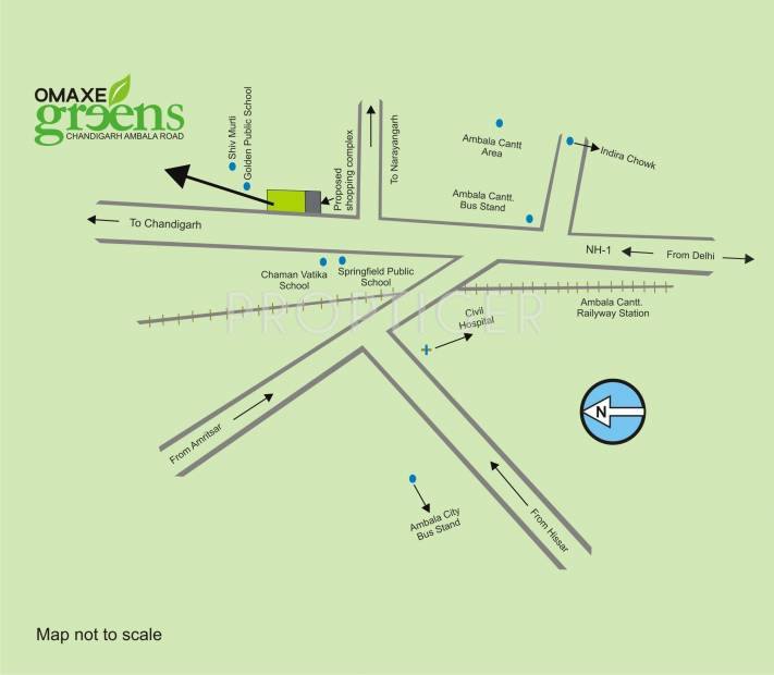 Images for Location Plan of Omaxe Greens