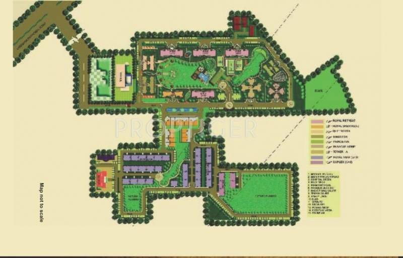 Images for Master Plan of Omaxe Royal Residency