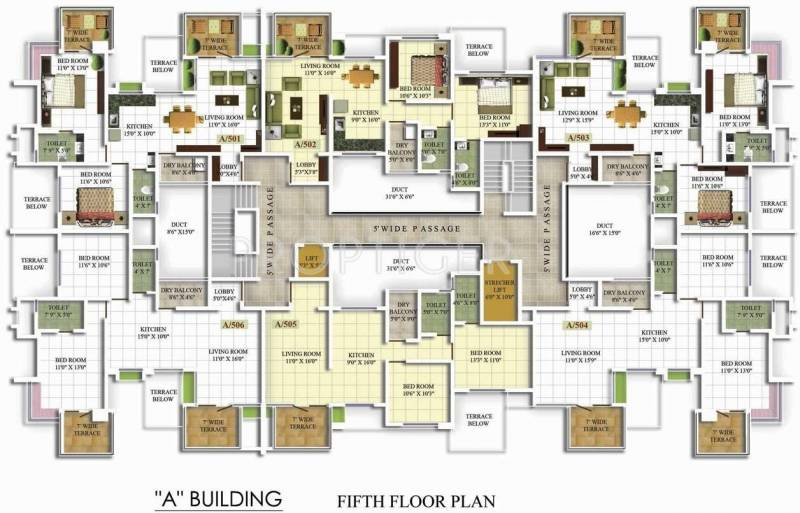 Images for Cluster Plan of Suraj Estate Developers Royal Astonia