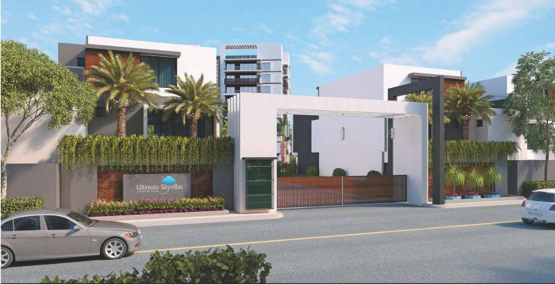 Images for Elevation of Ultimate Construction Ultimate Sky Villas