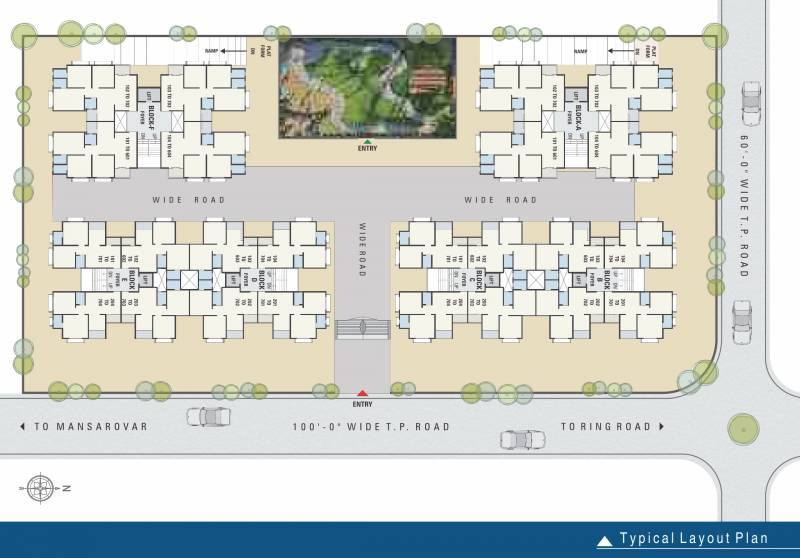 Images for Layout Plan of Pavitra Enclave