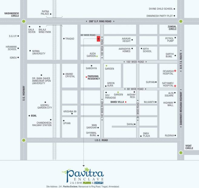 Images for Location Plan of Pavitra Enclave
