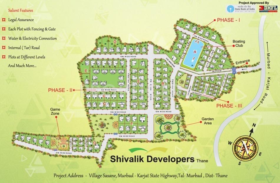 Shivalik Flori Hills In Murbad Mumbai Price Location