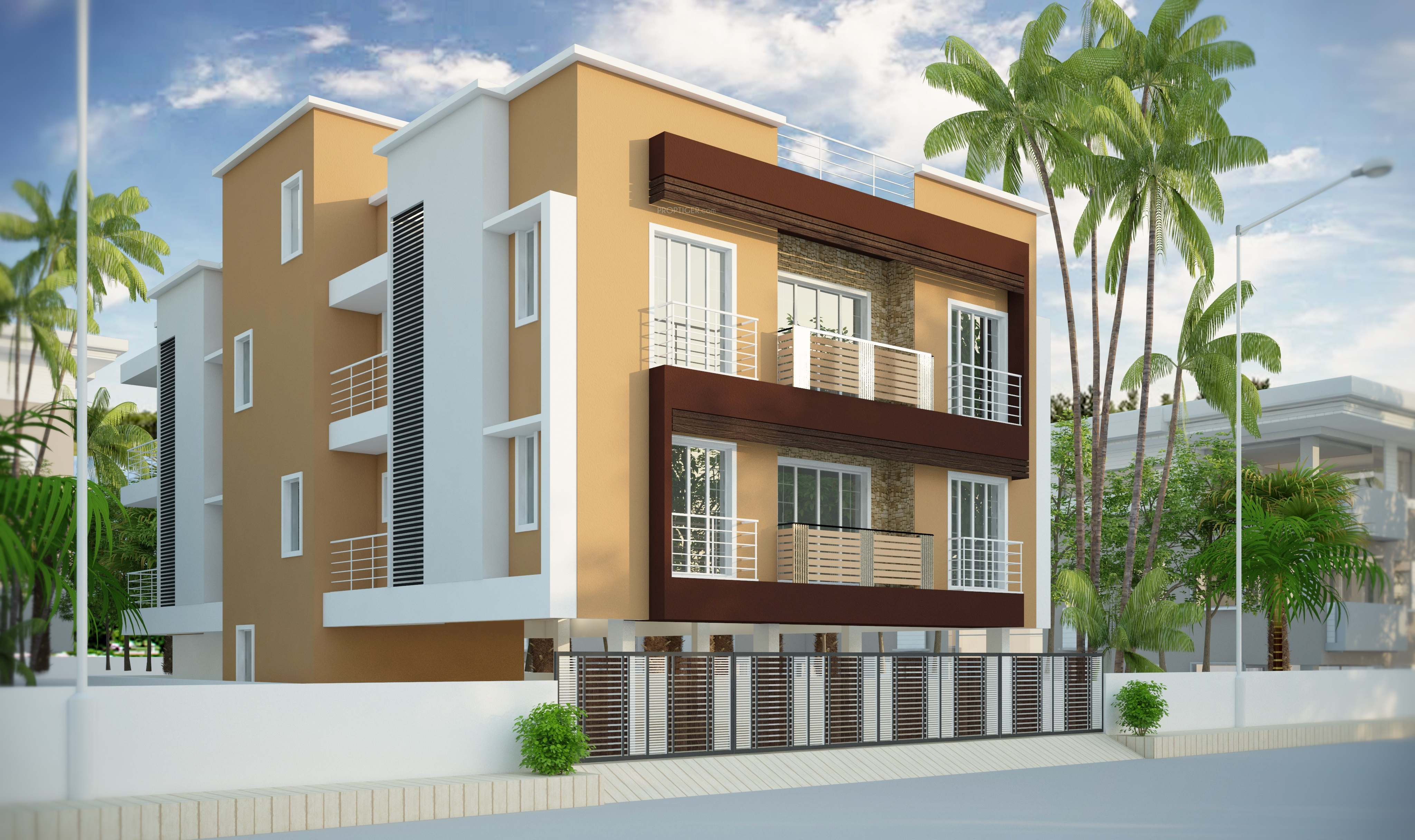 1440 Sq Ft 3 Bhk 3t Apartment For Sale In Ridhi Opera Courtyard Koyambedu Chennai