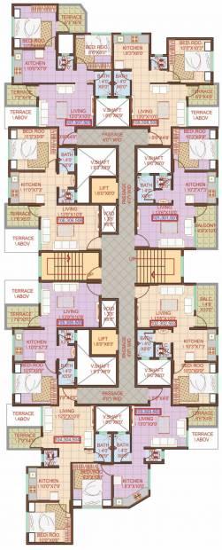 Images for Cluster Plan of Moraya Amrut Pushp
