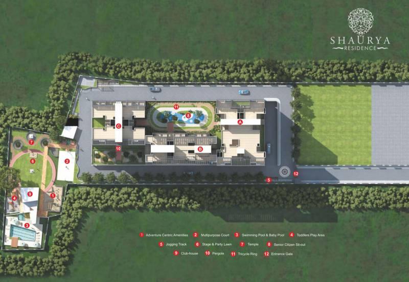 shaurya-residence Images for Site Plan of Three S Shaurya Residence