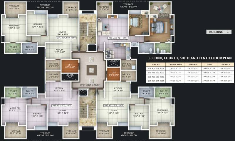 shaurya-residence Images for Cluster Plan of Three S Shaurya Residence