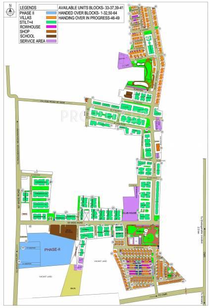 Images for Layout Plan of BSCPL Bollineni Hillside Villas