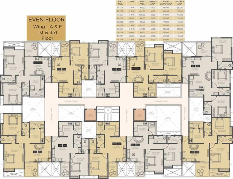 Images for Cluster Plan of Venkatesh Oxy Bonita