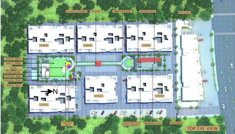 Images for Layout Plan of Venkatesh Oxy Bonita