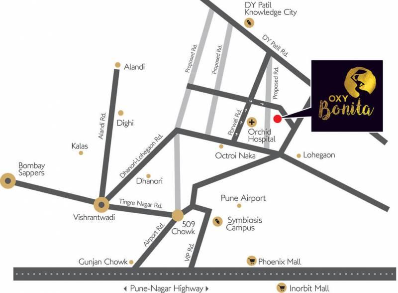 Images for Location Plan of Venkatesh Oxy Bonita
