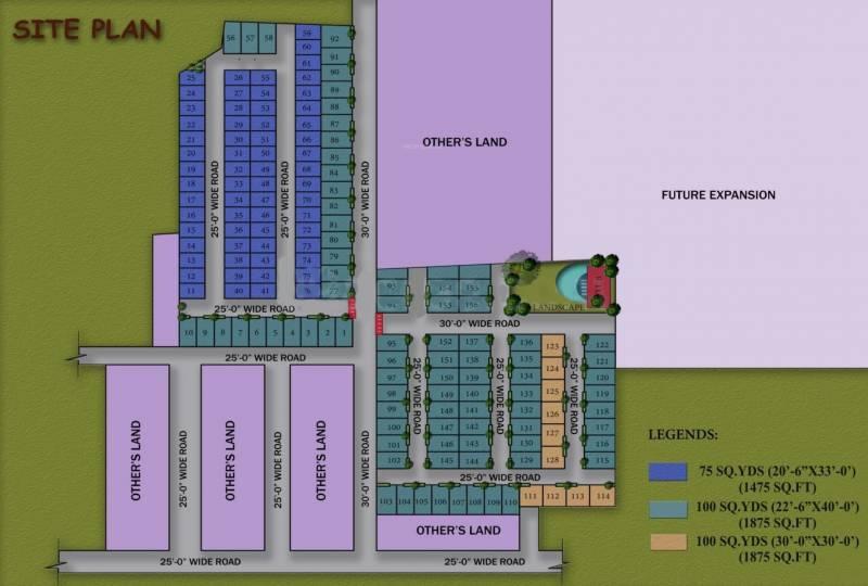 green-villa Images for Layout Plan of Kingson Green Villa