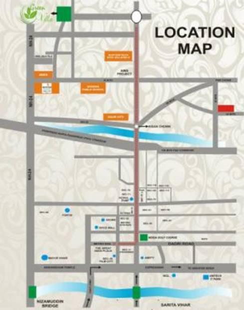 green-villa Images for Location Plan of Kingson Green Villa