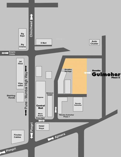 Images for Location Plan of Renuka Gulmohar Phase 2
