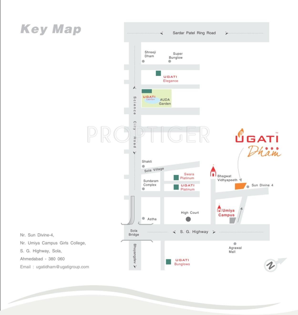 Ugati Dham in Sola, Ahmedabad - Price, Location Map, Floor Plan