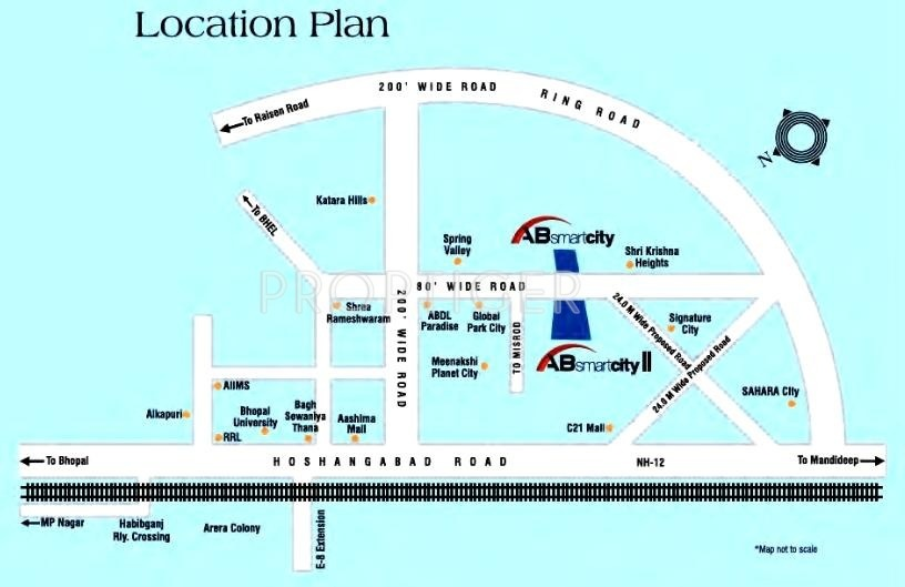Aaradhya Smart City Phase I Apartments In Bagmugalia Bhopal Price Location Map Floor Plan