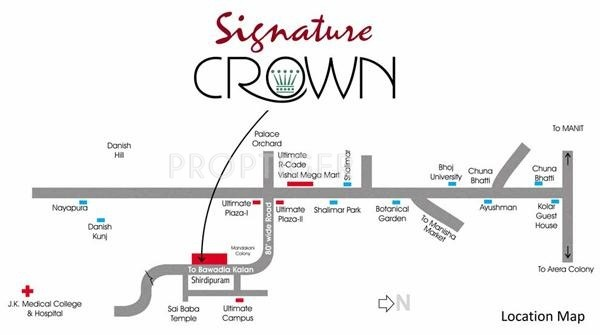 Images for Location Plan of Aaradhya Signature Crown