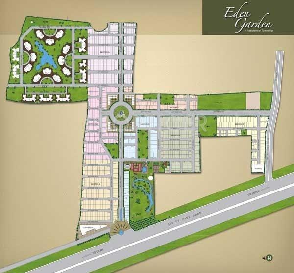 GHP Eden Garden Apartments In Sikar Road, Jaipur