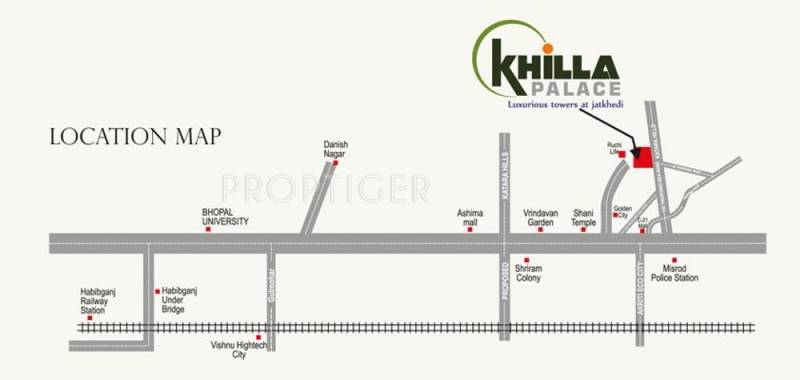 Images for Location Plan of Khilla Palace