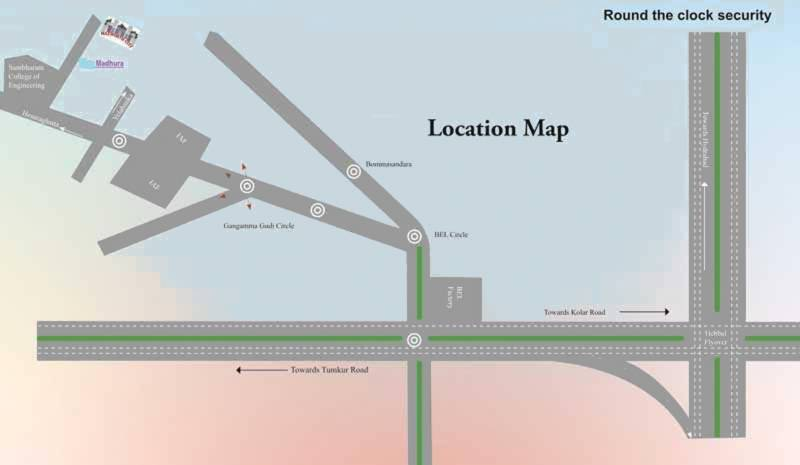Images for Location Plan of Adhya Madhura