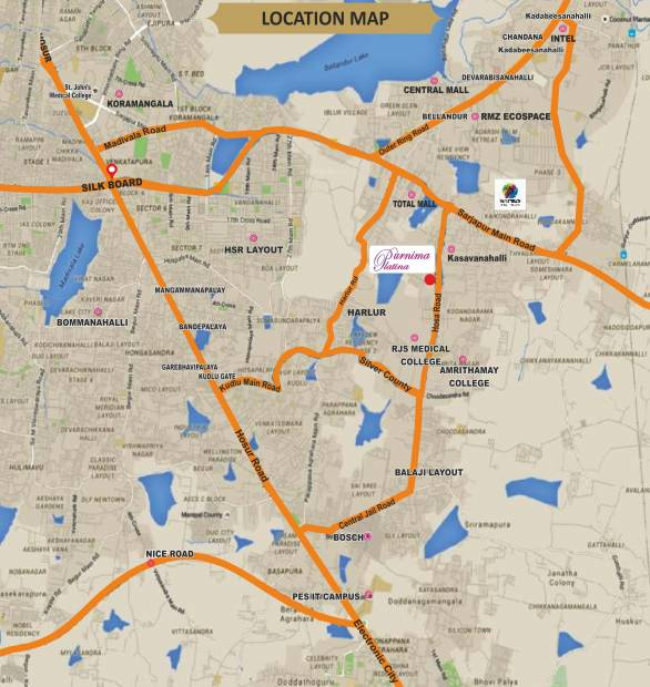 Images for Location Plan of Purnima Platina