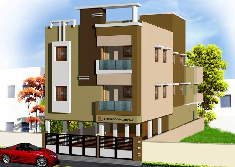 Images for Elevation of Tower Ragosundar Flat
