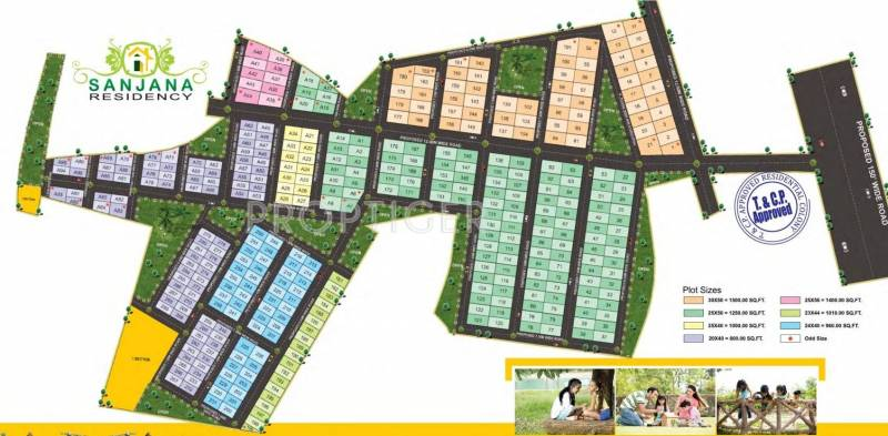 Images for Layout Plan of Khilla Sanjana Residency