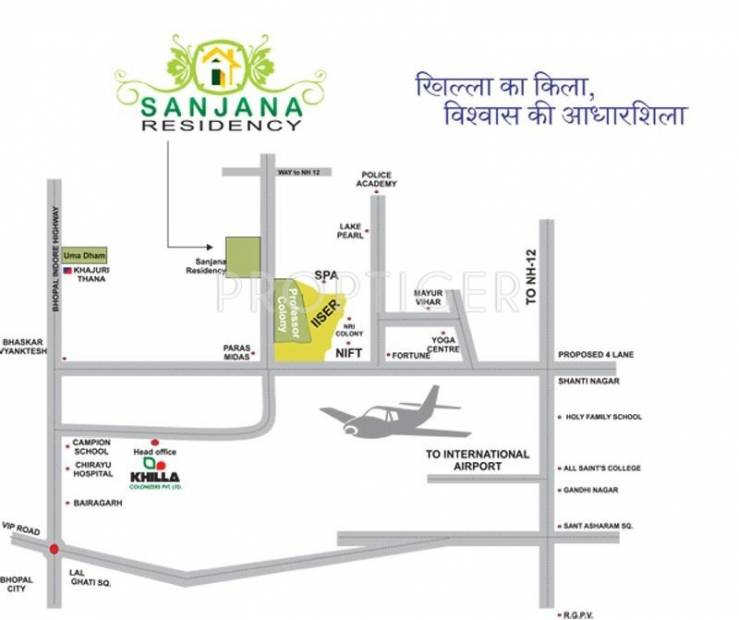 Images for Location Plan of Khilla Sanjana Residency