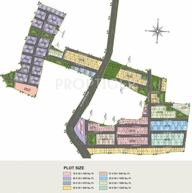 Images for Layout Plan of Rai Bhavya City Phase1 Plots