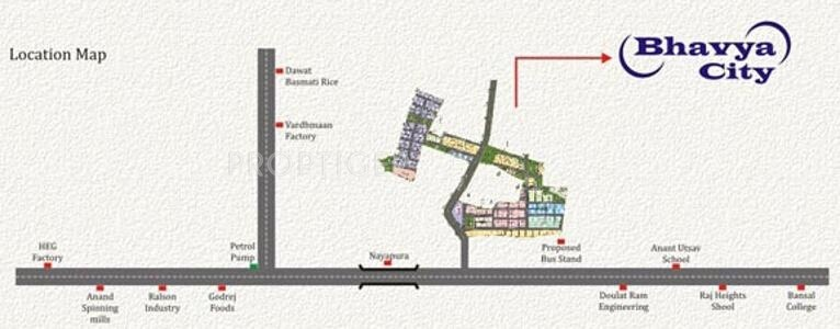 Images for Location Plan of Rai Bhavya City Phase1 Plots