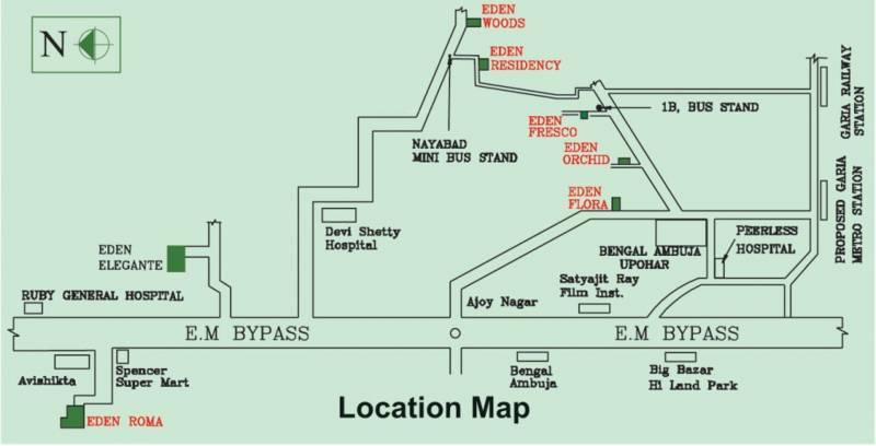 Images for Location Plan of Eden Elegante