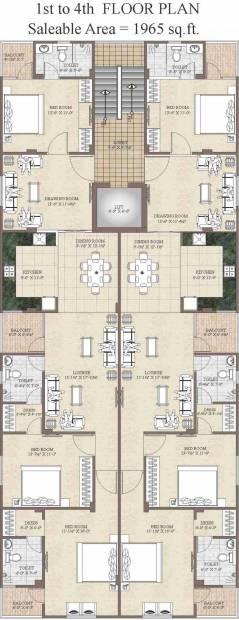 Images for Cluster Plan of Aashish West End