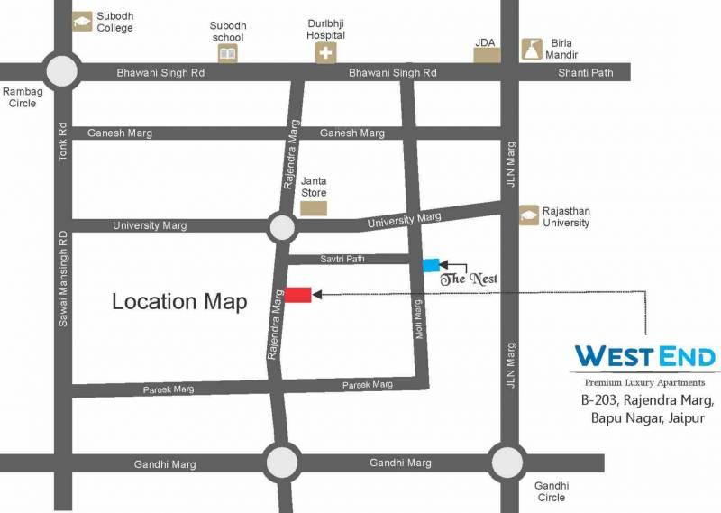 Images for Location Plan of Aashish West End