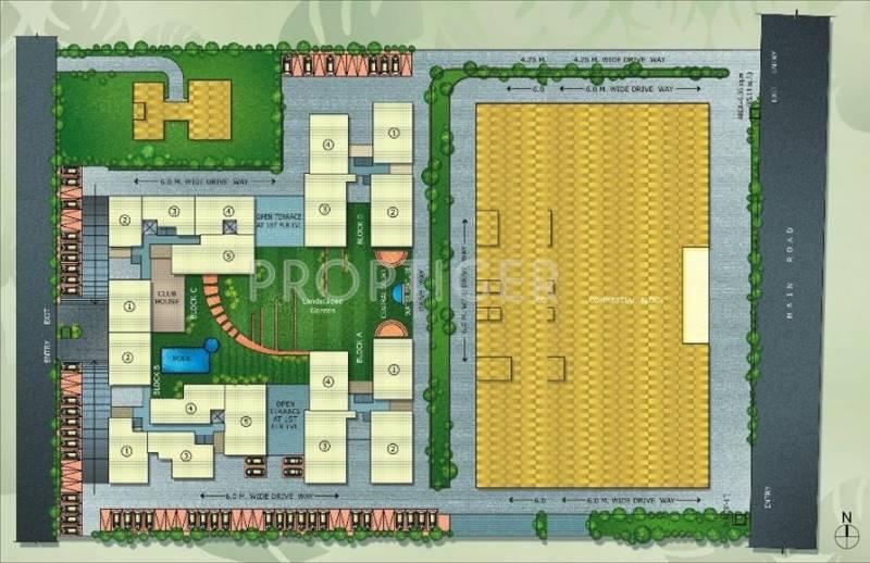 Utkal Builders Royal Residency Layout Plan