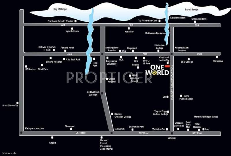 Images for Location Plan of Artha One World Villa