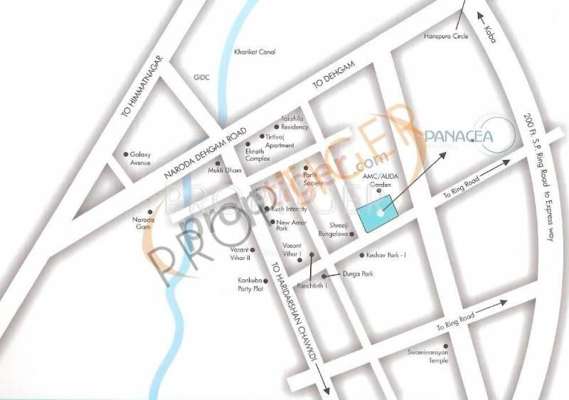 Images for Location Plan of Om Shivam Residency