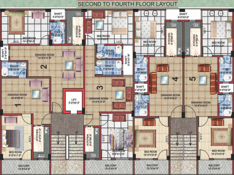 Images for Cluster Plan of APS APS Royal Homes