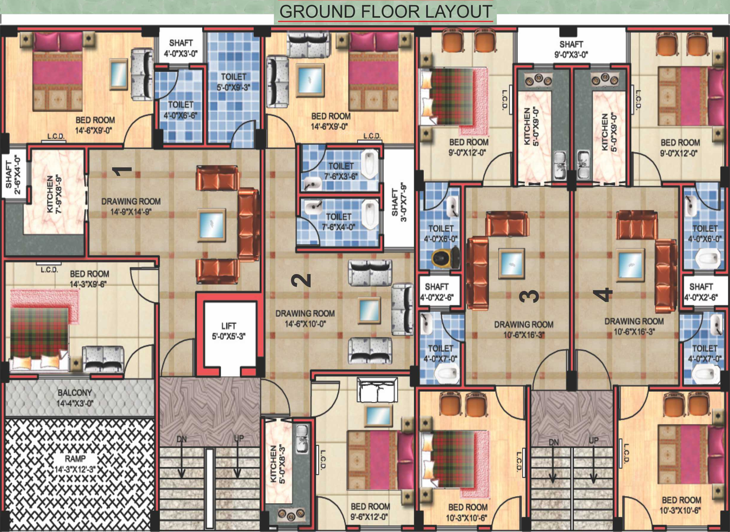 595 Sq Ft 1 Bhk 1t Apartment For Sale In Aps Aps Royal