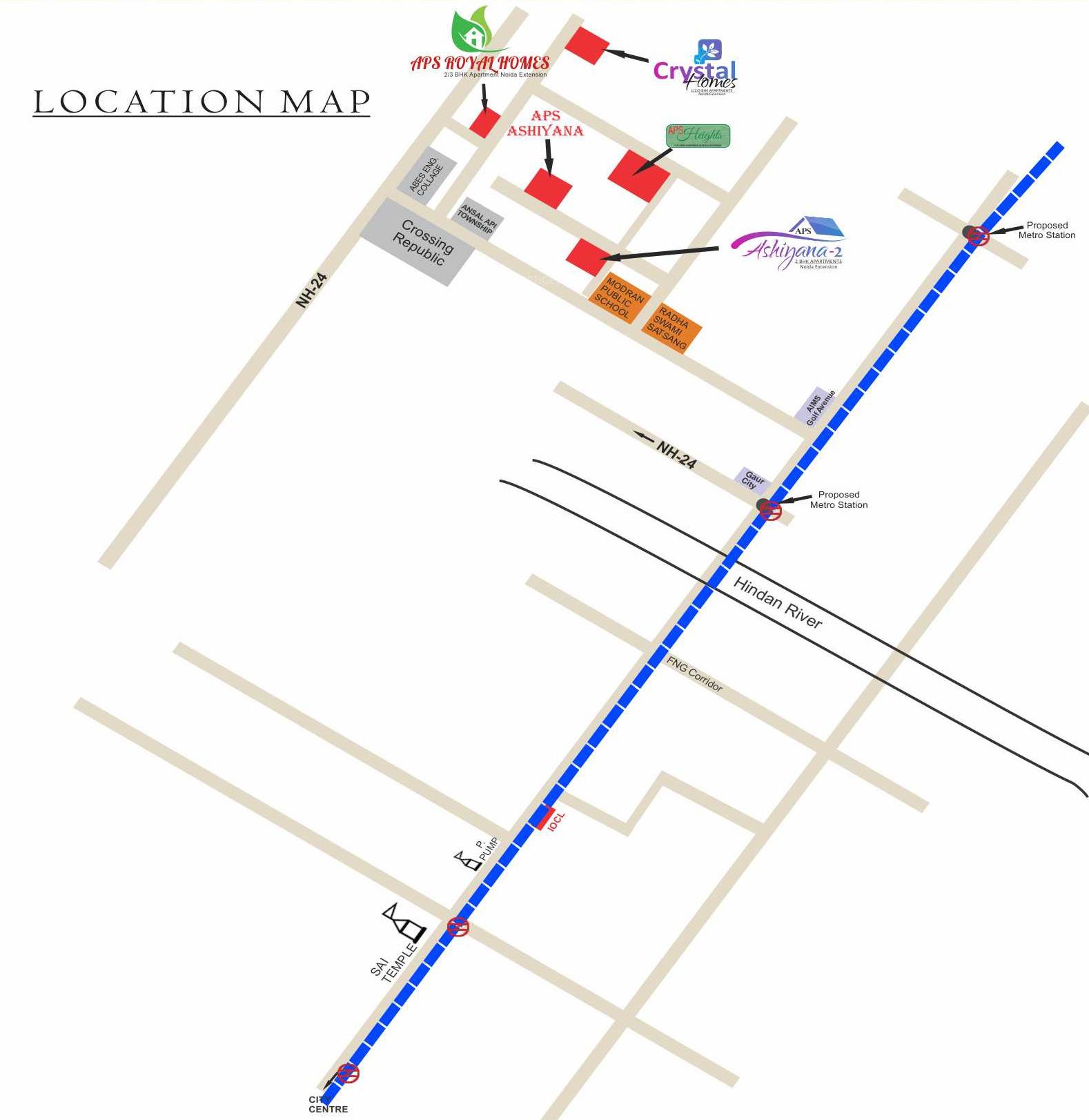 Aps Royal Homes In Sector 4 Noida Extension Greater Rack Wiring Diagram Homesneighbourhood