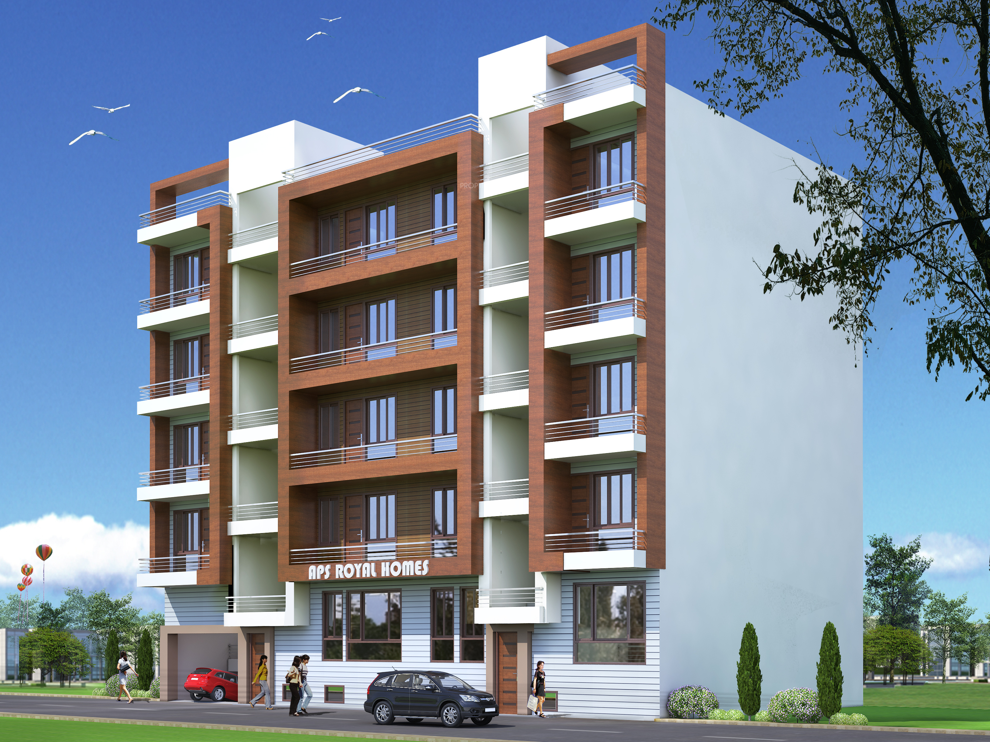 Aps Aps Royal Homes In Sector 4 Noida Extension Noida