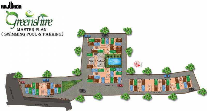 greenshire Images for Site Plan of Rajwada Greenshire