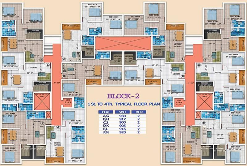 Images for Cluster Plan of Rajwada Greenshire
