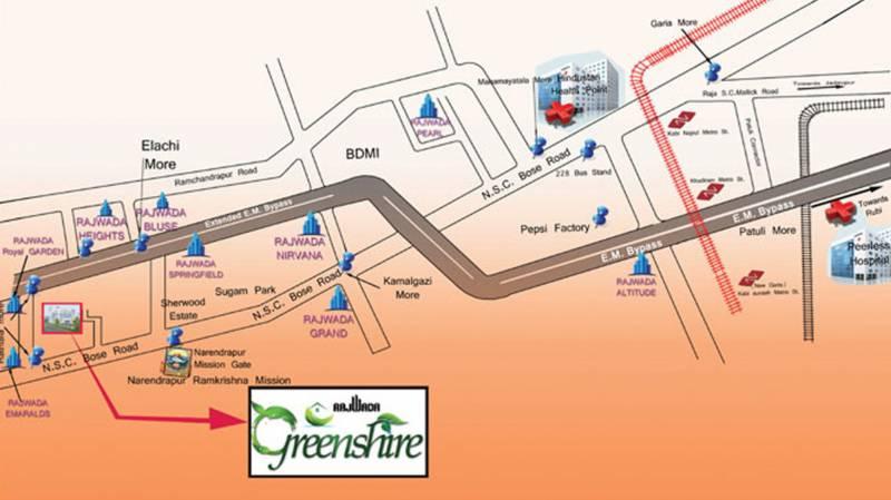 greenshire Images for Location Plan of Rajwada Greenshire