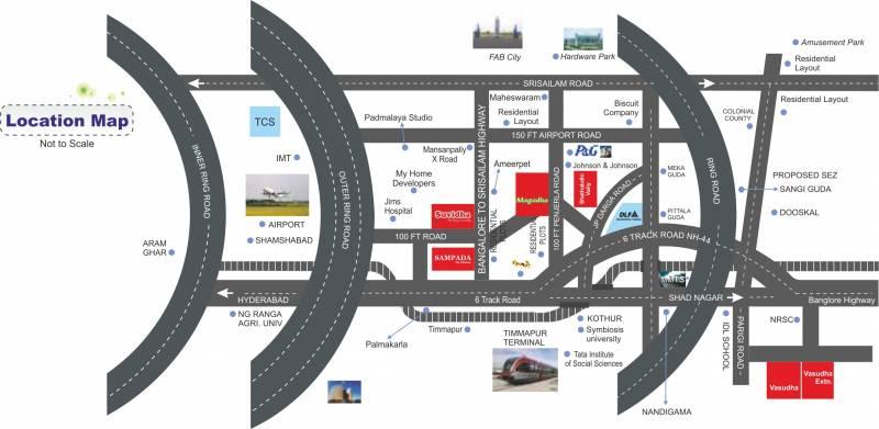 Images for Location Plan of Shathabdhi Suvidha Grand