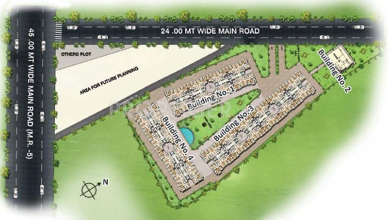 enclave Images for Layout Plan of Nariman Enclave