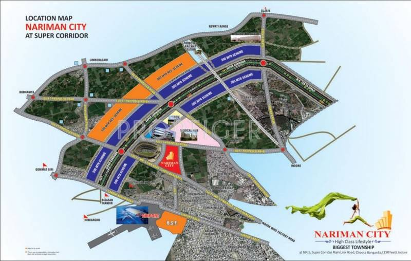 enclave Images for Location Plan of Nariman Enclave