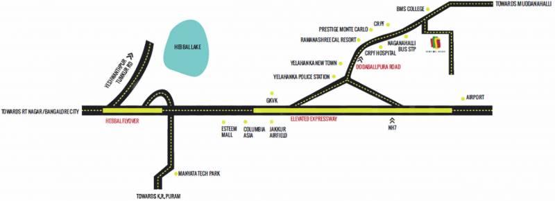 Images for Location Plan of Pragna Whistling Woods